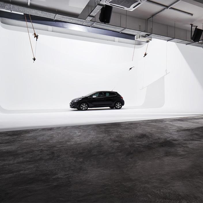 Metal Studio Car Photoshoot