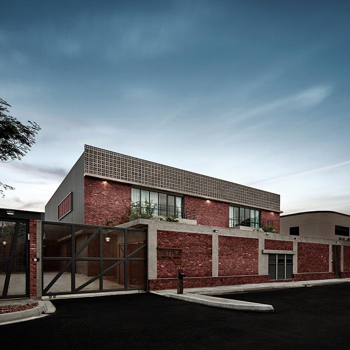 Metal Studio Building