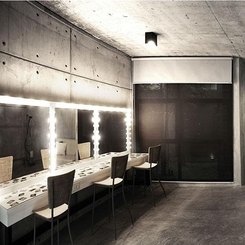 Makeup Room | The Raw Studio